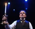 Paul Morella performs in 'A Christmas Carol'