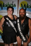 Ms. Woods Leather 2017 Alyssa Durnien and Mr. Woods Leather 2017 Todd Apple