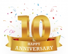 The Ten Year Milestone