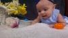 Baby Cassandra at Easter