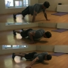 Archer push-ups