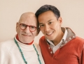 Larry Kramer and Kelsey Louie