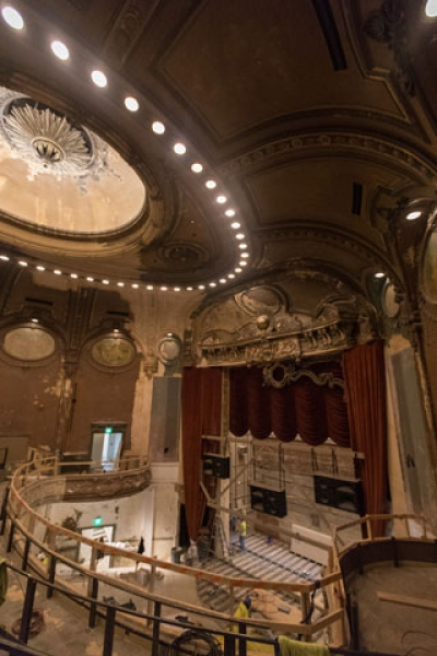 SNF Parkway Theatre: layers of history and new home of Maryland Film Fest