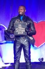 Gérard Turner, Mr. Mid-Atlantic Leather 2018