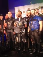 Proud as peacocks at Mr. Mid-Atlantic Leather 2017