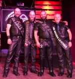 Mr. DC Eagle and fellow titleholders