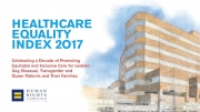 Chase Brexton Named 'Leader in LGBTQ Healthcare Equality' by HRC