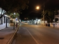 Revelers sleep, too! Key West's Duval Street on a quiet night.